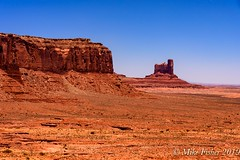 Monument Valley Tribal Park (BFS Man) Tags: arizona d750 monumentvalley nikon mountain rock sky