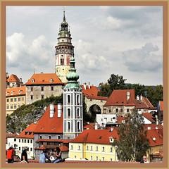 Beauties of Europe II - 5 (T.S.Photo (Teodor Sirbu)) Tags: towers town huses colors medieval ranaissence castle palace burg bohemia