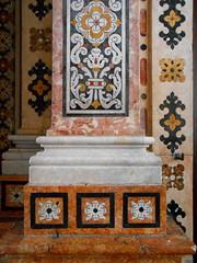 Lisbon Interiors (Chris Draper) Tags: lisbon portugal lisboa interior architecture decoration church chapel marble marquetry stone mosaic inlay inlaid