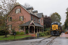 Glen Mills, PA (Dan A. Davis) Tags: westchester westchesterrailroad wcrl rs18u alco locomotive passengertrain railroad glenmills cheyney pa pennsylvania