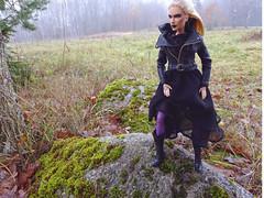 Hedge Witch (FreeRangeBarbie) Tags: ooak barbie wonderwoman witch outdoors