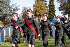 20181111_0077_1 (Bruce McPherson) Tags: brucemcphersonphotography seaforthhighlanders centumcorpora remembranceday armistice brassband 100piecebrassband livemusic bandmusic brassmusic remembrance armisticeday veteransday mountainviewcemetery jones45 areajones45 commonwealthcemetery remembering honouring wargraves outdoorperformance outdoormusic vancouver bc canada thelittlechamberseriesthatcould homegoingbrassband
