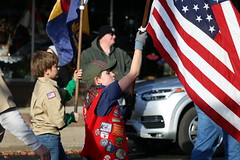Veterans Day Parade 2018 (dankeck) Tags: cubscouts webelos flag bsa vest patches veteransday parade loganohio hockingcounty ohio southeasternohio patriot patriotic america simonkentoncouncil hockinghillsunitedmethodistchurch
