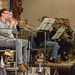15 DSCN1813c Ealing Symphony Orchestra rehearsal. Leader Peter Nall. Conductor John Gibbons. 24th November 2018. St Barnabas Church, west London (Photo Lucy Robinson)