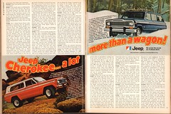 1979 AMC Jeep Cherokee - Wagon Advertisement Playboy November 1978 (SenseiAlan) Tags: 1979 amc jeep cherokee wagon advertisement playboy november 1978