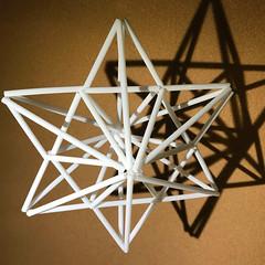 himmeli (unikto) Tags: christmas himmeli polygon star hexagon sky shape shade shadow light night sun line sand