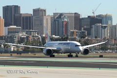 JA825J at San Diego (320-ROC) Tags: japanairlines jal ja825j boeing787 boeing787dreamliner boeing7878 boeing7878dreamliner boeing dreamliner 787 787dreamliner 7878 7878dreamliner b788 ksan san sandiegointernationalairport lindberghfield sandiegolindberghfield sandiegoairport sandiego california