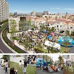 集合住宅と戸建街区を含む複合開発の写真