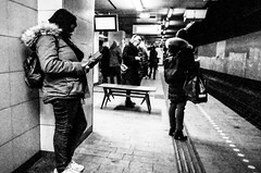Subway... (Sean Bodin images) Tags: streetphotography streetlife seanbodin subway 2019 gr ricohgr2 grist grsnaps people photojournalism photography nørreport reportage copenhagen citylife candid city citypeople