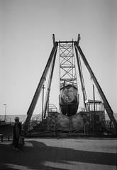 (Jerry501) Tags: street batumi seashore blackandwhite monochrome bnw olympusxa ilfordhp5 35mm analog film