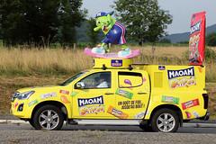 Caravane Publicitaire Tour de France 2018 (gimbellet) Tags: canon nikon automobiles auto cars camion car véhicules voiture transport transportation extérieur france french motor team race cyclisme cycle cycling cyclist pub publicité publicity
