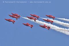 8283 Diamond (photozone72) Tags: eastbourne airshows aircraft airshow aviation raf canon canon7dmk2 canon100400f4556lii 7dmk2 rafat redarrows reds hawk diamond
