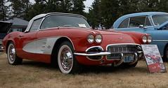 Little Red Corvette (Scott 97006) Tags: car automobile sportscar classic red 1961