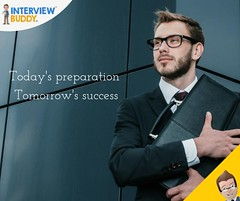Today's preparation tomorrow's success (InterviewBuddy) Tags: hacktheinterview practice job interviewtip dreamjob futuregoals jobhunt successkey