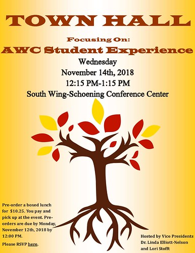 Town Hall-AWC Student Experience