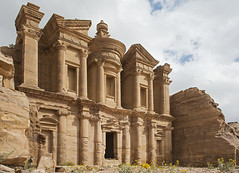 The Monastry (azar2007) Tags: jordan travel travels holiday middleeast petra outside ruins outdoors