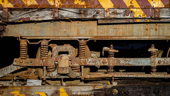 (jtr27) Tags: dscf3174xl jtr27 fuji fujifilm xe2s vivitar komine 55mm f28 macro manualfocus train railway rust corrosion decay maine newengland