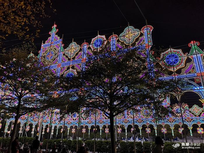 【台北信義】2019台北光之饗宴│一秒到日本│超美夜景光雕藝術 @魚樂分享誌