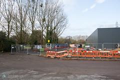 25/11/18 (Dave.Kirwin) Tags: car eastleigh ford hampshire hendy kornwestheimway villeneuvestgeorgesway building constructionwork development