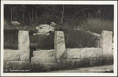 Postkort fra Agder (Avtrykket) Tags: gravsted mur postkort steinmur grimstad austagder norway nor