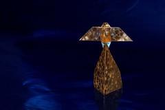 Happy New Year (De Rode Olifant) Tags: origami 3d angel artdecoangel marjansmeijsters paulhanson paper paperart papiroflexia tutorial origamiangel origamiartdecoangel
