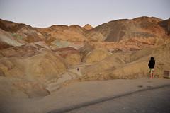 Overlook at Artist's Palette (radargeek) Tags: deathvalley ca california 2018 december artistspalettedrive tourist artistspalette