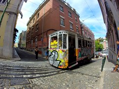 #Lisboa #tram #gopro  Super trip (ludo.bigazzi) Tags: gopro tram lisboa