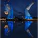 Those Beautiful Kelpies At Night (Phil Petrie 2014) Tags: andyscott scotland falkirk thekelpies