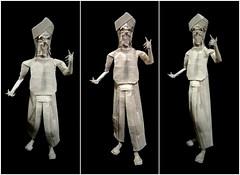 ORIGAMI - PRA 👳 (Neelesh K) Tags: origami pra sikh sardar brother paperfolding tracing paper