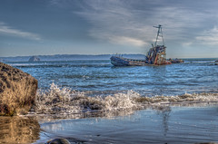 Shipwreck (Michael F. Nyiri) Tags: cayucos california boat shipwreck pacificocean