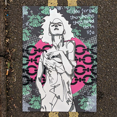We forge the chains that bind us in life (id-iom) Tags: lady girl woman art contemporaryart modernart urbanart popart pop urban modern contemporary chains bind bound life qutote dickens charlesdickens portsmouth southsea playdead playdeadgallery