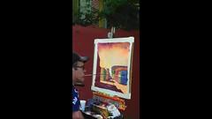 _La Boca neighborhood (kasiahalka) Tags: argentina art barrio boca buenosaires buildings church city color colorfull laboca labocaneighborhood southamerica statue street tango