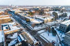 2019 - January - CHS - Snowy Winter Break Sunday-176-HDR.jpg (ISU College of Human Sciences) Tags: building winter forker campus buildings foodsciencebuilding morrill snow lagomarcino ringoflife campanile scenic palmer fshn chs mackay beauty