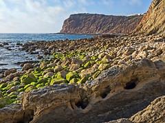 Sâo Martinho do Porto, Alcobaça (Leiria, Portugal) (Miguelanxo57) Tags: cielo mar océano agua acantilado rocas paisaje sãomartinhodoporto alcobaça distritodeleiria portugal