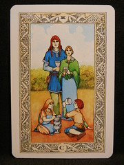 Six of Cups. (Oxford77) Tags: tarot thenorsetarot norse viking vikings cards card tarotcards