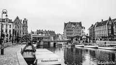 Gand en Belgique (Lцdо\/іс) Tags: belgique belgium belgie gand ghent gent blackandwhite black noiretblanc citytrip city cityscape blanc lцdоіс europe europa