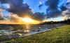 Kortenhoef Sunset (Skylark92) Tags: nederland netherlands holland noordholland northholland kortenhoef wijde blik meer lake sunset zonsondergang hdr tonemapped