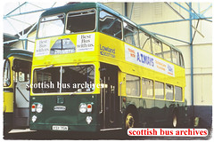 LOWLAND SCOTTISH 815 KSX715N (SCOTTISH BUS ARCHIVES) Tags: lowlandscottish dd715 ecw daimlerfleetline scottishbusgroup easternscottish