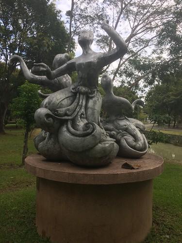 Statue in Rama IX Park, Chiang Mai