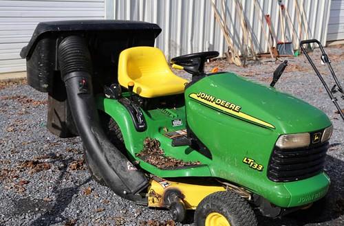 John Deere lawn mower ($336(