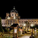 Christmas village Maria Theresienplatz thumbnail