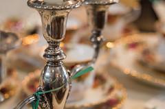 Candlesticks and bokeh chains (OzzRod) Tags: pentax k1 industar61lzmc50mmf28macro индустар61лз closeup bokeh silver candlestick plates colisseum mayfield dailyindecember2018