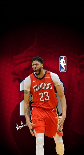 23 Anthony Davis New Orleans Pelicans IPhone X XS XR Wallpaper