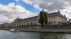 Musée d'Orsay / Музей Орсе (dmilokt) Tags: город city town река river пейзаж landscape dmilokt nikon d750 paris париж