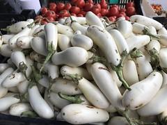 White eggplant from Tutti Frutti Farms (TomChatt) Tags: food farmersmarket