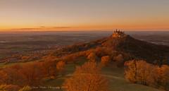 Burg Hohenzollern im Herbstlicht (anaidphotography) Tags: germany burghohenzollern travel reise light landschaft landscape sun sunlight beautiful beauty sunset autumn herbst