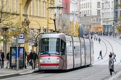 BRN_1928_201811 (Tram Photos) Tags: skoda škoda 13t brno brünn strasenbahn tram tramway tramvaj tramwaj mhd šalina dopravnípodnikměstabrna dpmb