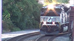 Norfolk Southern ballast train (29 September 2018) (Marion, Ohio, USA) 6 (James St. John) Tags: marion ohio ballast train trains norfolk southern ns