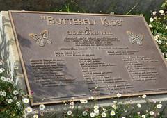 Butterfly Kids explained (afagen) Tags: california pacificgrove montereypeninsula butterflykids christopherbell sculpture sign