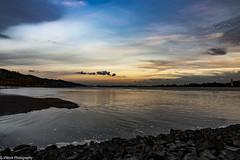 Sunset #2 (vmonk65) Tags: elbe fluss himmel leuchtturm nikon nikond810 river sky sonnenuntergang wasser wittenbergen wolkem clouds water